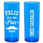 Long Drink Azul Translucido Personalizado - (Caixa c/100 unidades)