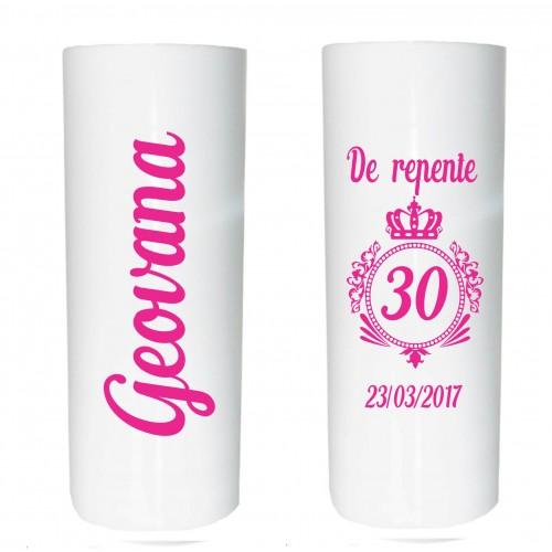 Long Drink Branco Personalizado - (Caixa c/100 unidades)