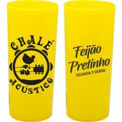Long Drink Amarelo Solido Personalizado - (Caixa c/100 unidades)
