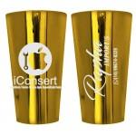 Copo Twister 550 ml Metalizado Personalizado - DOURADO