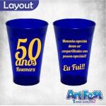 Copo Twister 550 ml Personalizado - Azul