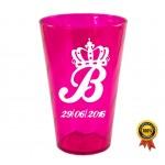 Copo Twister 550 ml Personalizado - Pink Neon