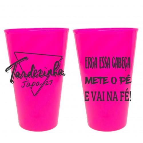 Copo Twister 550 ml Personalizado - Pink Solido
